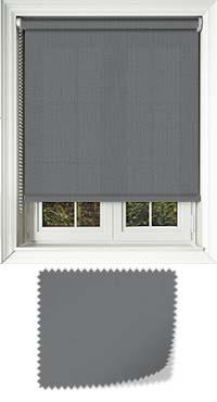 Origin Rock Grey Bifold Doors Blind