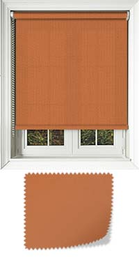 Origin Tango Orange Cordless Roller Blind