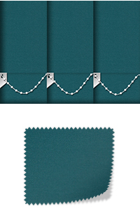 Origin Teal Roller Blind