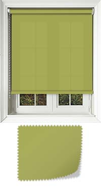 Origin Vine Green Roller Blind