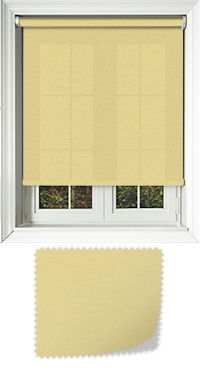 Origin Yellow Roller Blind
