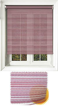 Padre Crimson Replacement Vertical Blind Slat
