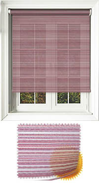 Padre Crimson Wooden Blind