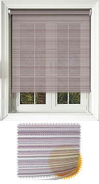 Padre Mulberry Motorised Roller Blind