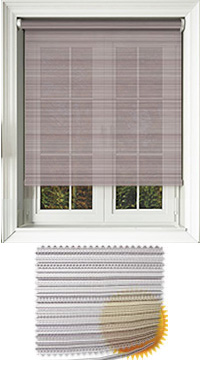 Padre Mulberry Vertical Blind