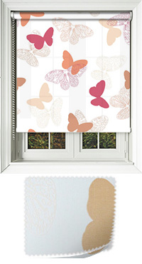 Papilon Summer Haze Wooden Blind