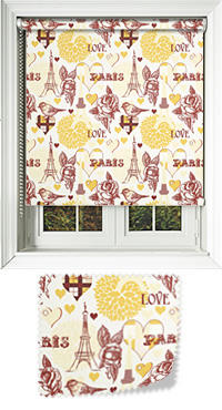 Parisian Gold Roller Blind