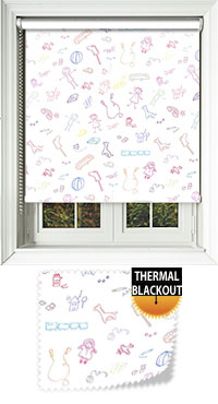Playschool Vertical Blind