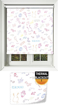 Playschool Cordless Roller Blind