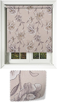 Podena Taupe Cordless Roller Blind
