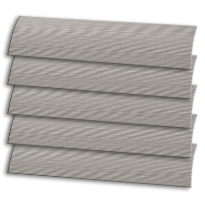 Putty Pin Stripe Roller Blind