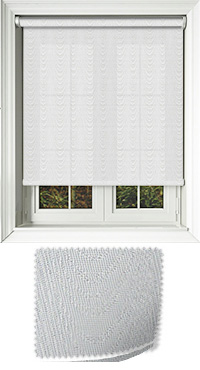Rapids Metallic Platinum Replacement Vertical Blind Slat