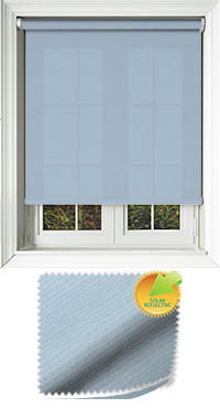 Ribbon Solar Blue Skylight Blind