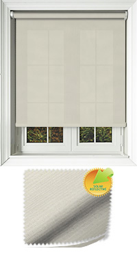 Ribbon Solar Cream Vertical Blind