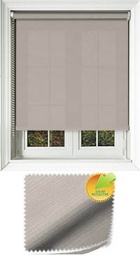 Ribbon Solar Fawn Cordless Roller Blind