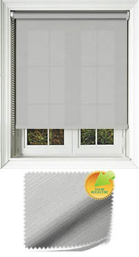 Ribbon Solar Silver Vertical Blind