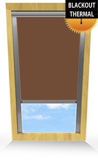 Rich Chestnut Roller Blind