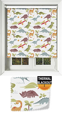 Roar White Skylight Blind