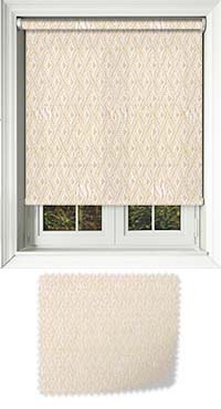 Roko Cream Cordless Roller Blind