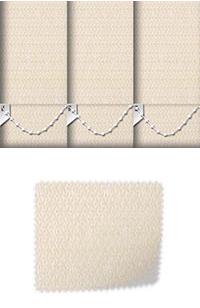 Roko Cream Replacement Vertical Blind Slat