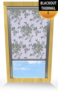 Rosetta Iris Motorised Roller Blind