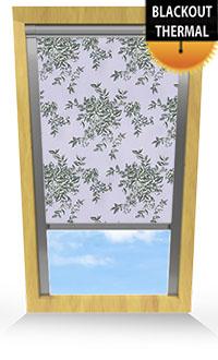 Rosetta Iris Bifold Doors Blind