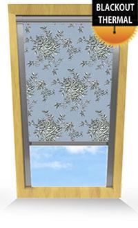Rosetta Mineral Bifold Doors Blind