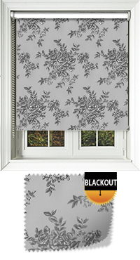 Rosetta Shadow Motorised Roller Blind