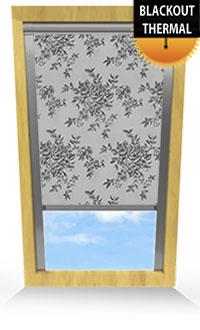 Rosetta Shadow Bifold Doors Blind