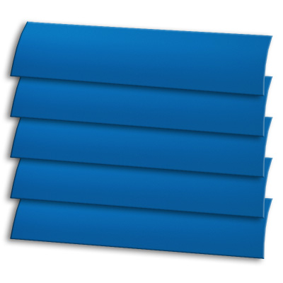 Royal Blue Vertical Blind