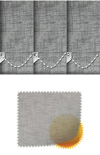 Sheer Grain Dove Grey Roller Blind