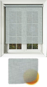 Sheer Grain Duck Egg Roller Blind