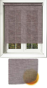 Sheer Grain Grape Roller Blind