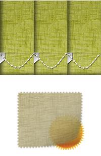 Sheer Grain Pistachio Replacement Vertical Blind Slat