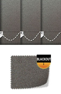 Shimmer Zinc Vertical Blinds Fabric Swatch