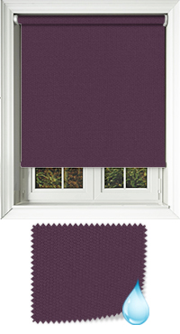 Shower Safe Aubergine Skylight Blind