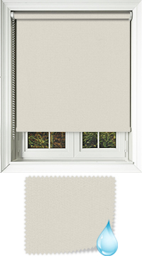 Shower Safe Beige Roller Blind