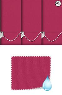 Shower Safe Bright Pink Roller Blind