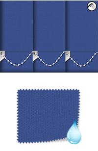 Shower Safe Imperial Blue Motorised Roller Blind