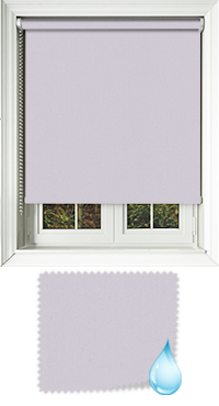 Shower Safe Lilac Bifold Doors Blind