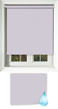 Shower Safe Lilac Motorised Roller Blind