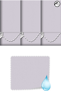 Shower Safe Lilac Roller Blind