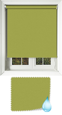 Shower Safe Lime Replacement Vertical Blind Slat