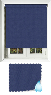 Shower Safe Navy Replacement Vertical Blind Slat