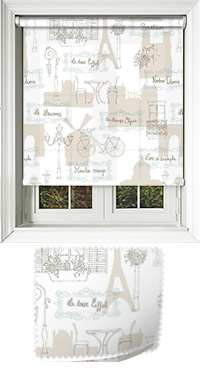 Sight Seeing Cordless Roller Blind