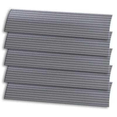 Silver Stripe Vertical Blind