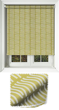 Slinky Lime Vertical Blind