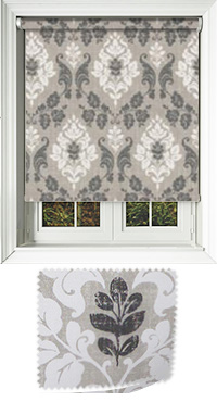Sloane Charcoal Motorised Roller Blind