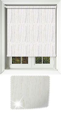 Solitaire Glint Wooden Blind