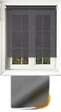 Sophie Graphite Vertical Blind